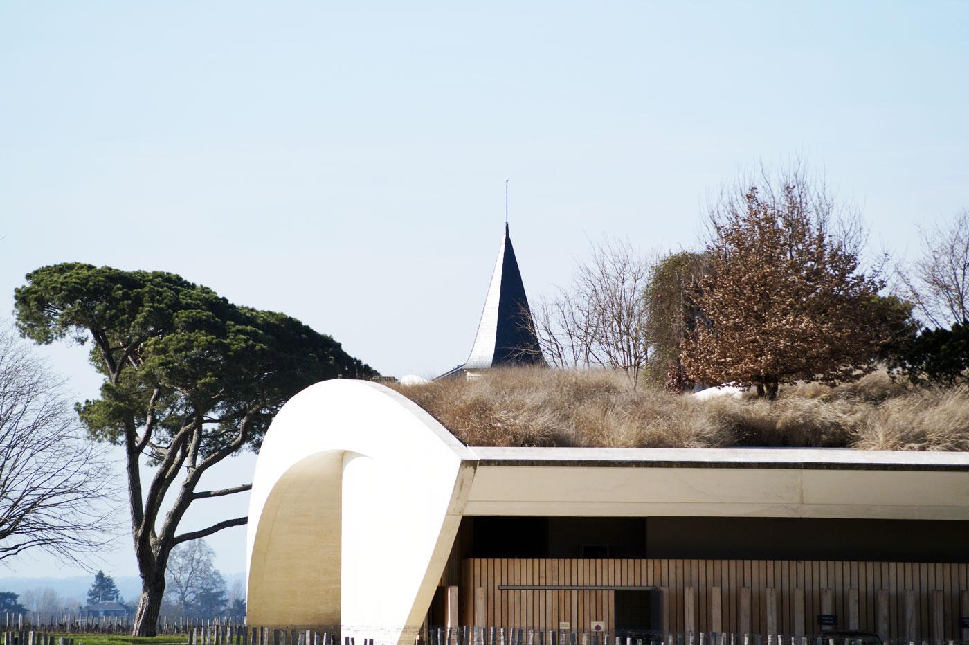 Architecture viticole moderne à Saint-Émilion