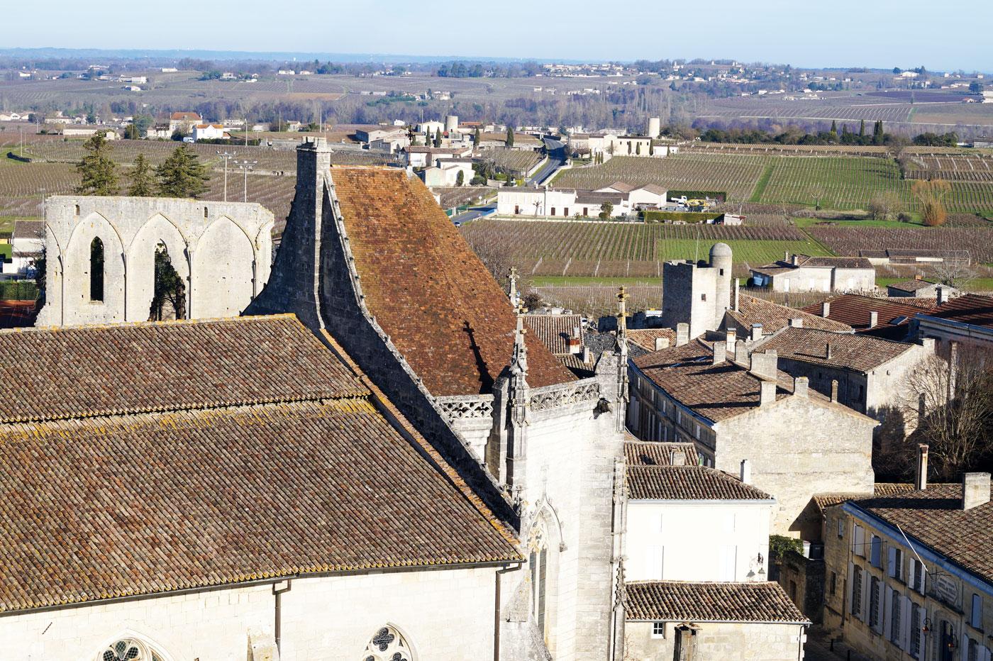 La cité médiévale de Saint-Émilion