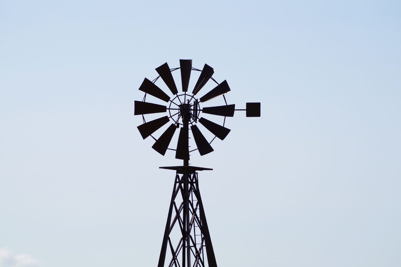 Éolienne à Saint-Émilion