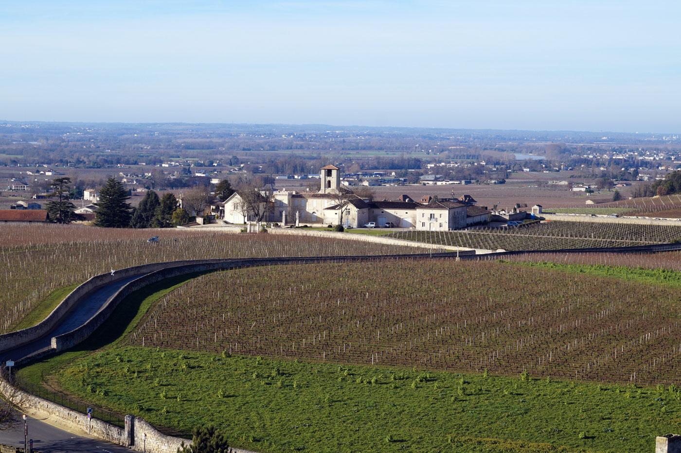 Paysage viticole de la Juridiction de Saint-Émilion